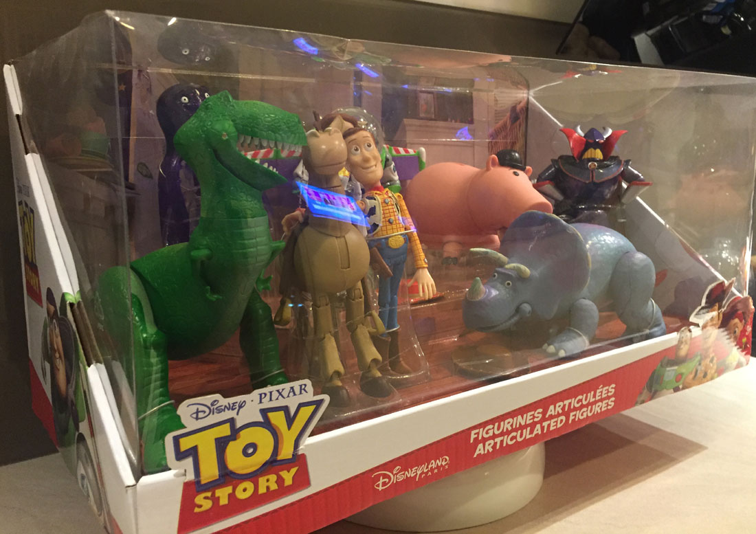 Toy Story Figurines : Assorted vintage toy story mini figurines buzz woody