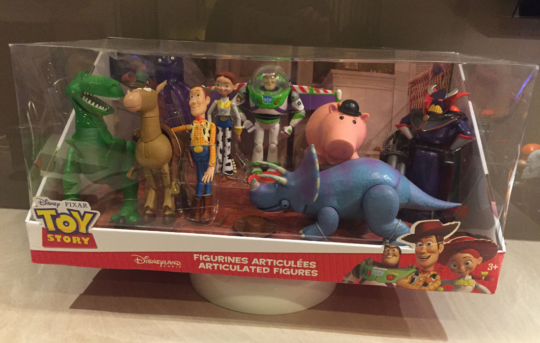 Toy Story Figurines : Toy story set de figurines deluxe jouet collection
