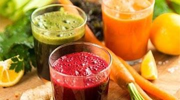 Jus de fruits et légumes