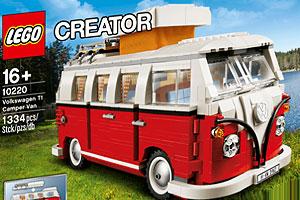 Lego 10220 : Volkswagen T1 Camper Van