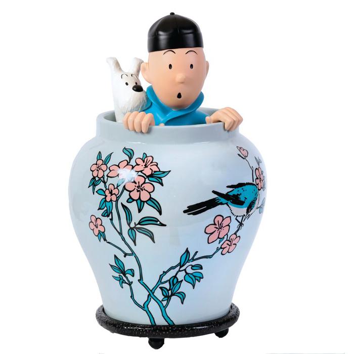 Potiche Tintin 44 cm - Édition Moulinsart