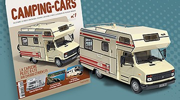 Camping Car Hachette Collection La Capucine
