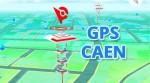 Coordonnées GPS des arène Pokemon GO à Caen