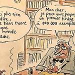 Dessin de Le Borgne, réflexion sur Facebook