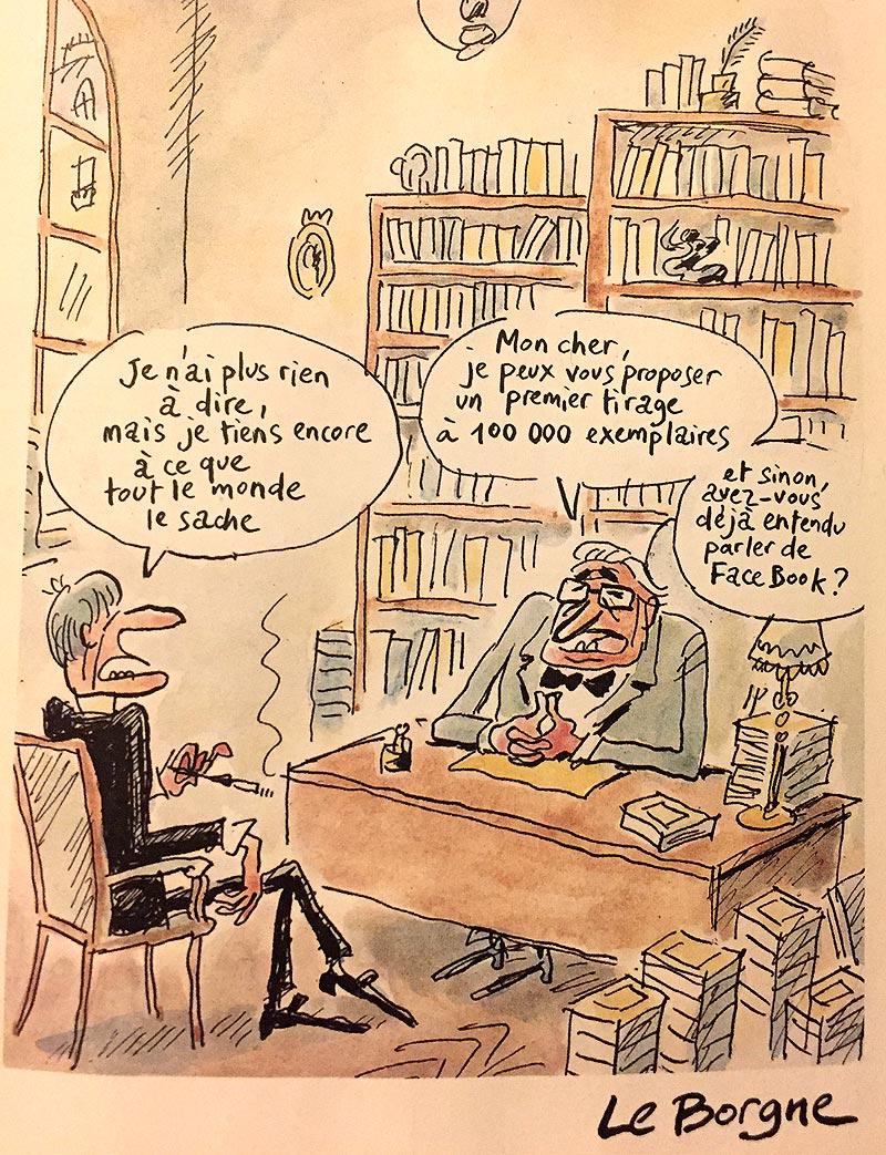 Dessin de Le Borgne Facebook