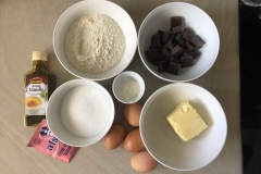 Avant, veillez à préparer tous les ingrédients nécessaires - Recette Cake façon Savane