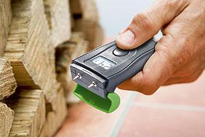 Humidimètre pour tester le taux d'humidité des bûches