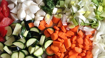 Potage légumes inratable