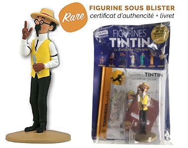 Tournesol en jardinier - Figurine Tintin 28