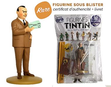 Al Capone le roi des gangsters - Figurine Tintin 78