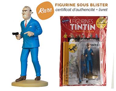 G. Loiseau - Figurine Tintin 84