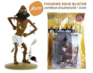 Le Fakir - Figurine Tintin 107