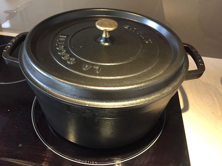 Couvrez et laissez cuire 1h30 à feu doux - Osso Bucco Veau