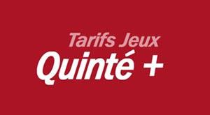 Tarifs Quinté +