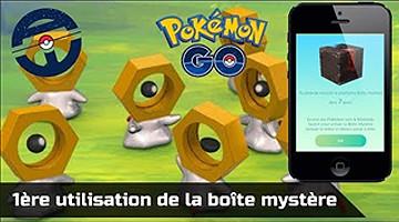 Comment obtenir une boîte mystère dans Pokemon GO