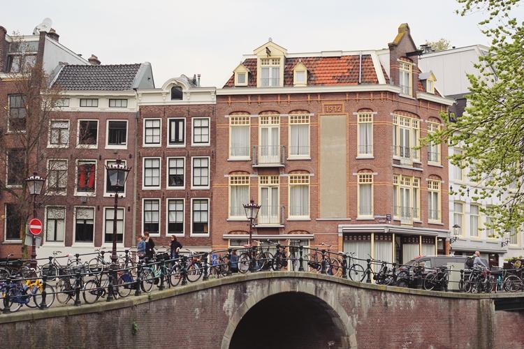 Le centre ville d'Amsterdam