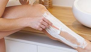 Rasage des jambes
