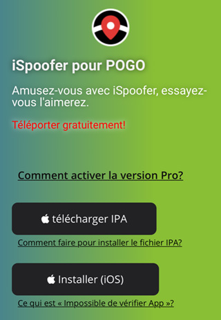iSpoofer Iphone